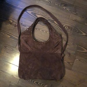 Lucky Brand Bags - Lucky Brand Suede Purse